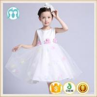 Buy cheap 2017 Angel dress Boutique girl clothing Princess Lace Flower dress for 7th birthday party Lovely from wholesalers