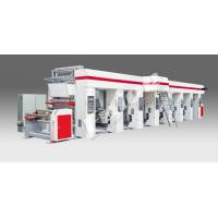 High Speed Plastic Film Rotogravure Printing Machine