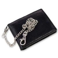 Buy cheap Classic Bifold Leather Biker Men Wallet from wholesalers
