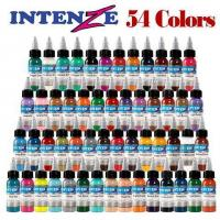 Wholesale Intenze 1 Oz Top Qualityt Tattoo Inks 54 Inks from china suppliers