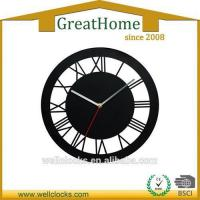 Buy cheap Silent Home Decorative Flower Shape DIY Acrylic Wall Clock from wholesalers