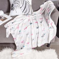 Buy cheap Classic Swaddle Baby Blanket 100% Cotton Muslin Large 47 X 47 inch from wholesalers