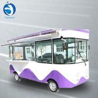 Buy cheap Food Cart Electric mobile street frozen food truck/ice cream cart pizz from wholesalers