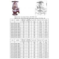 Buy cheap JIS marine Cast Iron Angle flange ends valve-Qingdao CXD Marine Valve from wholesalers