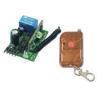Buy cheap 1CH DC12V Mini Garage Door Remote Control RF Transmitter Receiver - Momentary Control Mode from wholesalers