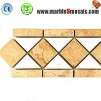 Wholesale Yellow Marble Border Tile from china suppliers