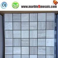 Buy cheap Athens Bathroom Marble Mosaic Floor Tile from wholesalers