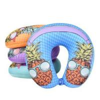 Buy cheap Printing Craft Custom Microbeads Pillow Travel Neck Support Pillow from wholesalers