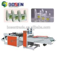 Buy cheap BS-DFR T-shirt Hot Sealing Hot Cutting plastic Bag Forming Machine with punching from wholesalers