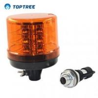 Buy cheap 10-48V ECE SAE DIN Plug Magnetic Flex Mount Amber LED Rotating Beacon from wholesalers