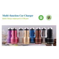 Buy cheap USB Car Charger Aluminum USB Car Charger from wholesalers
