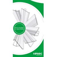 Buy cheap pvc data strip label channel shelf talker plastic price tag holder from wholesalers