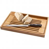 Buy cheap BISTRO CUTTING BOARD WITH BREAD KNIFE from wholesalers