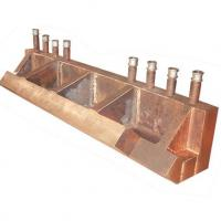 Buy cheap Tilting furnace arch-foot beam copper water jacket from wholesalers
