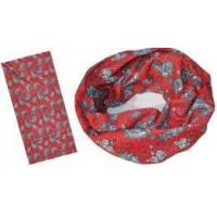 Buy cheap 2 Color Printing Bandana with Worm Design (YT-873) from wholesalers