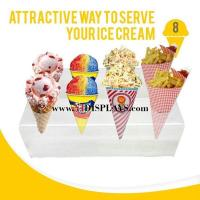 Buy cheap Acrylic Ice Cream Food Display from wholesalers