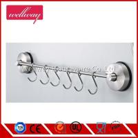 Wholesale Self Adhesive Rack with 6 Hooks 304 Stainless Steel from china suppliers