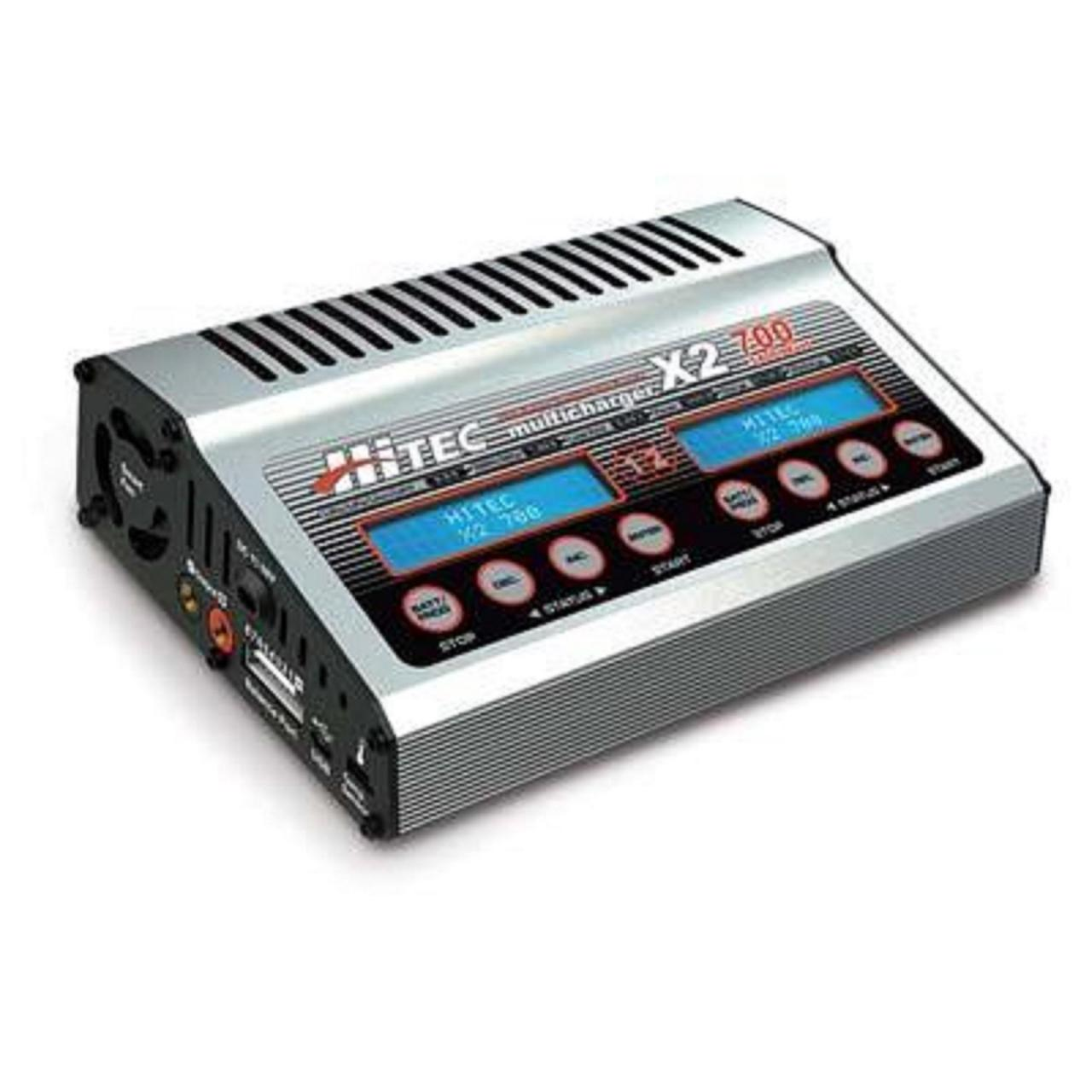 Buy cheap Hitec X2 700 DC Dual Port Charger with 700 Watts Per Channel HRC44239 from wholesalers