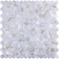 Buy cheap A18010 - Oyster Mother of Pearl Tile for Kitchen Backsplash, 12x12 White from wholesalers