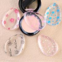 Wholesale customize print pattern silicone makeup powder puff for foundation make-up from china suppliers