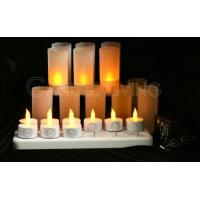 Buy cheap 12 sets, Rechargeable LED Tealight Candle Set from wholesalers