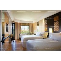 Buy cheap Hotel Motel Furniture Double Bed Furniture For Sale from wholesalers