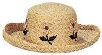 Buy cheap 1236 - Packable Ladies' Raffia Straw Hat from wholesalers