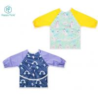 Buy cheap Happy flute PUL Baby Waterproof Long Sleeve Feeding Baby Bibs odorless for 6-24 Months baby from wholesalers
