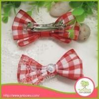 Buy cheap Headband & Hairband Plaid Baby Boutique hairgrips hair clips from wholesalers