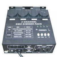 Buy cheap Stage lightings Dimmer Pack 4CH from wholesalers