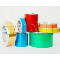 Buy cheap Colored Lacquered Coated Aluminum Foil Strip PP cap from wholesalers