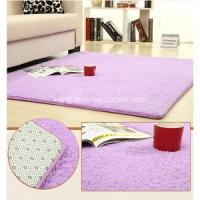 Buy cheap 100% Polyester Silk Carpet from wholesalers