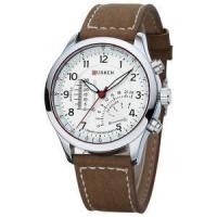 Buy cheap New Casual Leather Men Quartz Wrist Watches from wholesalers