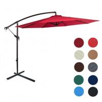 Buy cheap 10ft Offset Patio Umbrella, UV Protection, Water-resistant Hanging Garden Cantilever from wholesalers