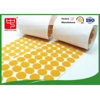 Buy cheap Nylon Material Sticky Adhesive Hook and Loop Dots various color for any application from wholesalers