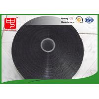 Buy cheap 11 inches black hook and loop tape injection plastic hook and loop super thin hook from wholesalers