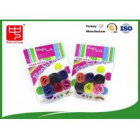 Buy cheap Beautiful pattern printed cable tie , hook and loop cinch straps Mix color from wholesalers