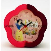 Buy cheap flower shape table alarm clock from wholesalers