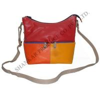 Buy cheap Leather Multi color chain pocket body bag from wholesalers