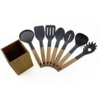 Buy cheap 7PCS Cooking Nylon Utensils With Kitchen Holder from wholesalers