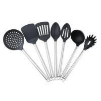 Buy cheap 7PCS Cooking Silicone Utensils With Stainless Steel Handle from wholesalers