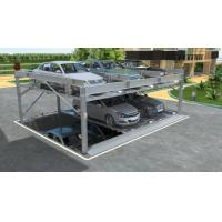 Buy cheap Maoyuan 3 Level Pit Puzzle Automated Smart Car Park Lift System Solutions from wholesalers