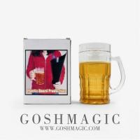 Buy cheap lastic board out of the beer glass empty board out of the fruit flower Japanese stage magic props from wholesalers