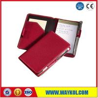 Buy cheap Leather Accessories Writing Jotter Memo Pad Series from wholesalers