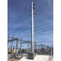 Buy cheap 115kV Steel Power Pole from wholesalers