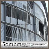 Buy cheap SS020005 Sombra Curved Sliding Adjustable Louver Shutter from wholesalers