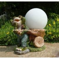Buy cheap Garden Series SF11173-2 Decorative Resin Solar Frog Lighted Glass from wholesalers