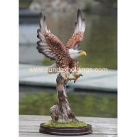 Wholesale Garden Series SF12107-2 Resin Crafts Animal Scrupture Outdoor Eagle Statue from china suppliers
