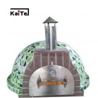 Buy cheap Wood-fired Mosaic Pizza oven with stainless steel door from wholesalers
