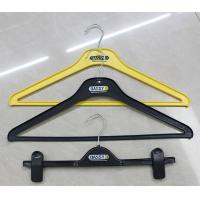 Buy cheap Jacket hanger rack,clip hanger with brand printed from wholesalers